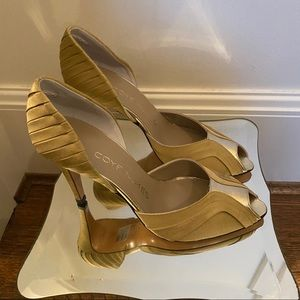 🔥Sale🔥 Coye Nokes Gold  D'orsay Pumps two sizes